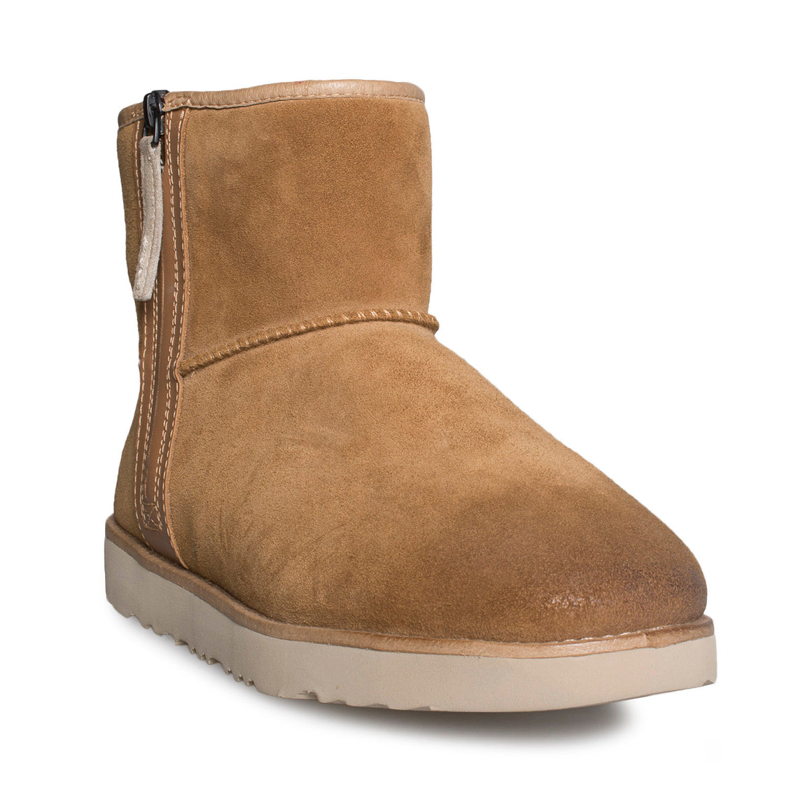 UGG Classic Mini Zip Waterproof Chestnut Boots - Men's