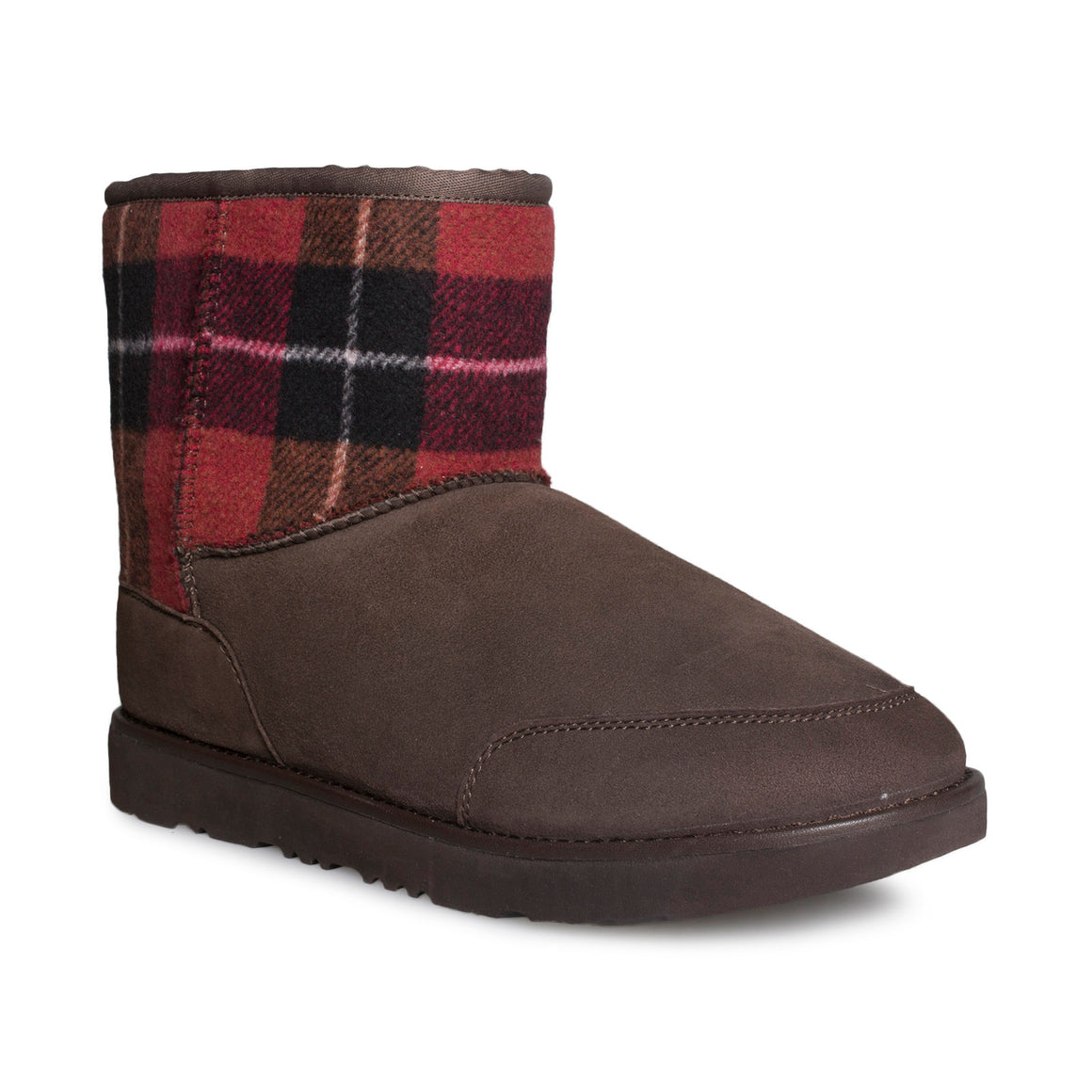 UGG Phillip Lim Classic Mini Flannel Check Boots - Men's