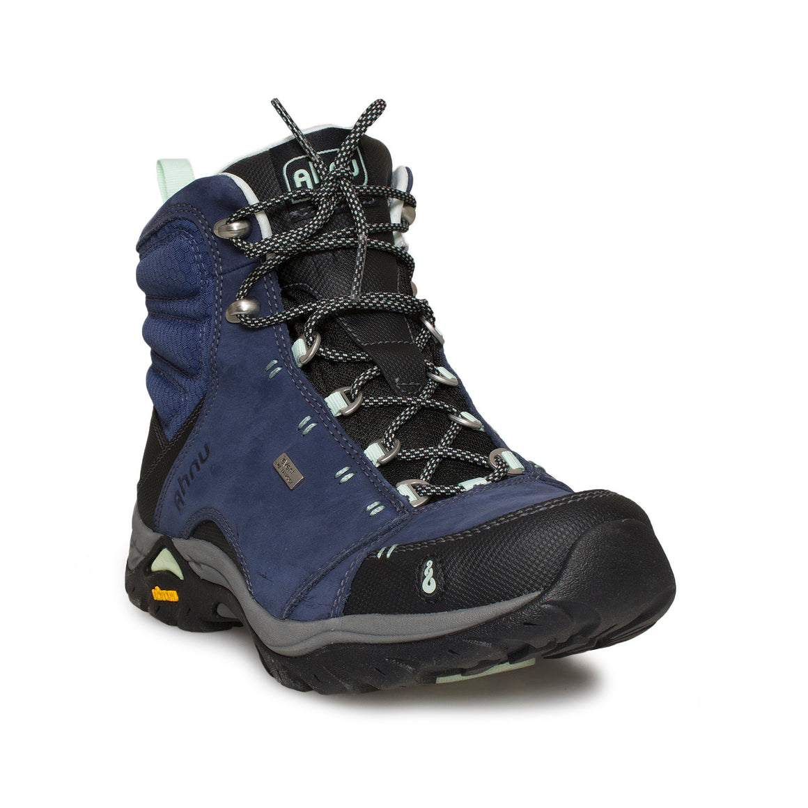 AHNU MONTARA MIDNIGHT BLUE WP HIKING BOOTS