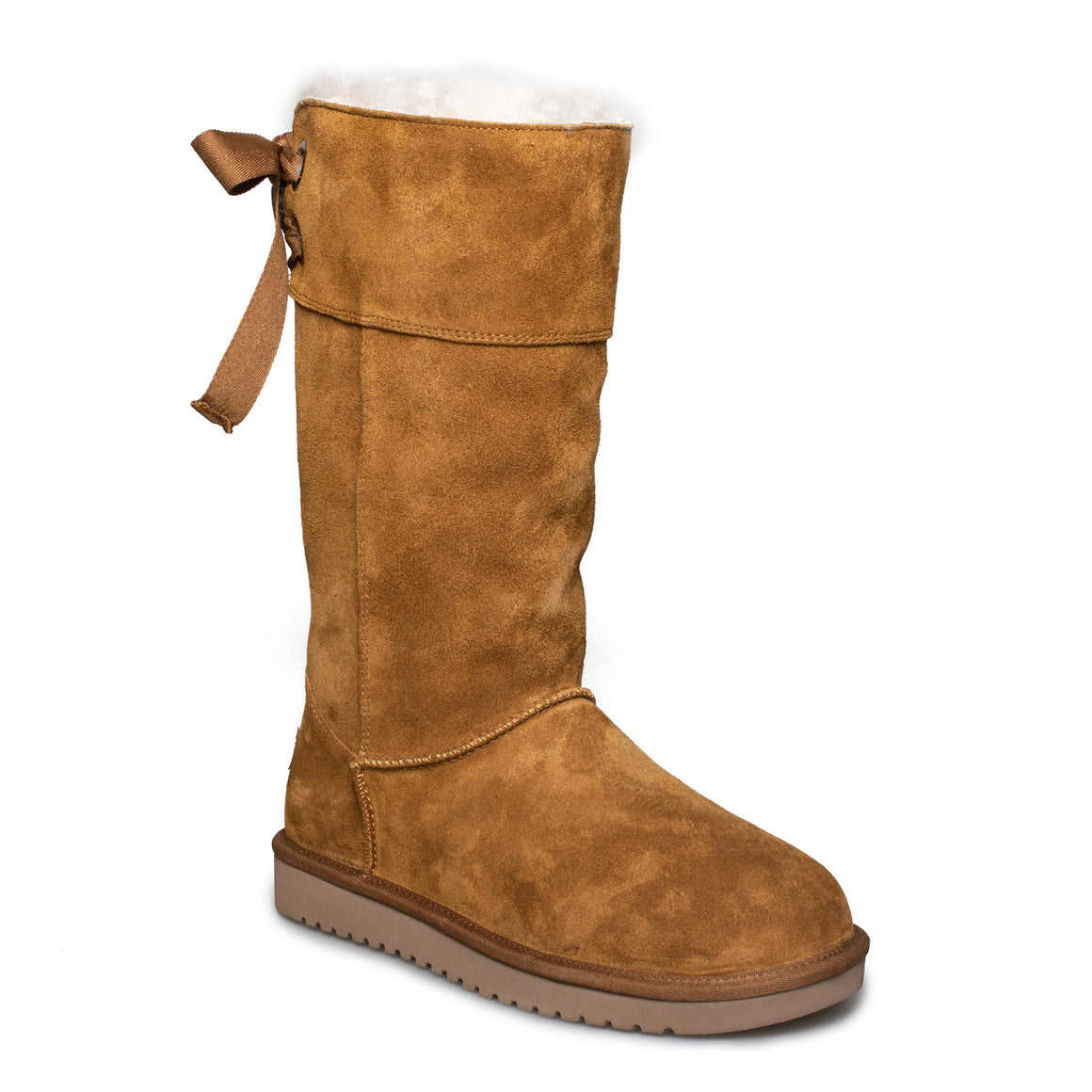 Koolaburra By UGG Andrah Tall Chestnut Boots - Women's