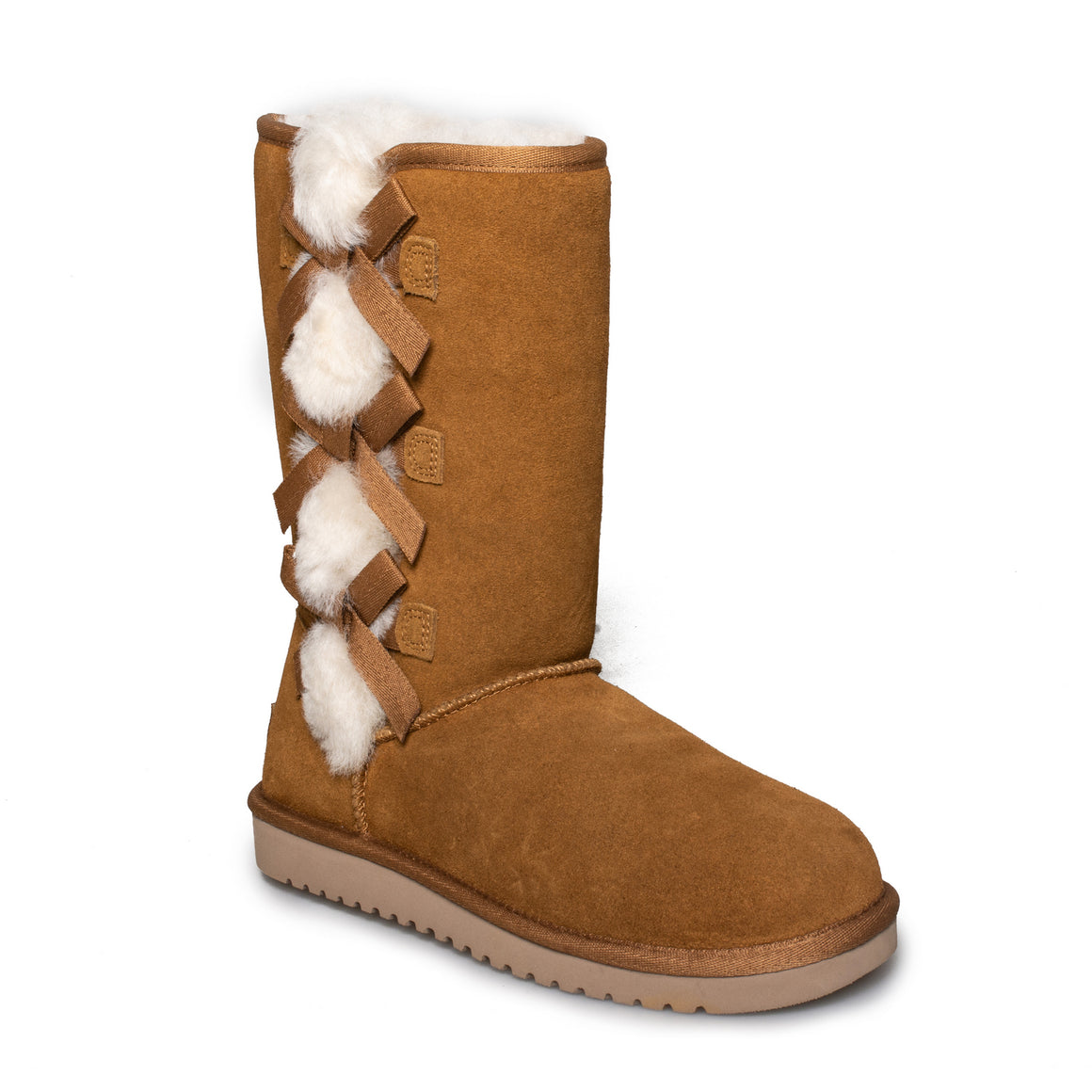Koolaburra By UGG Victoria Tall Chestnut Boots - Women's