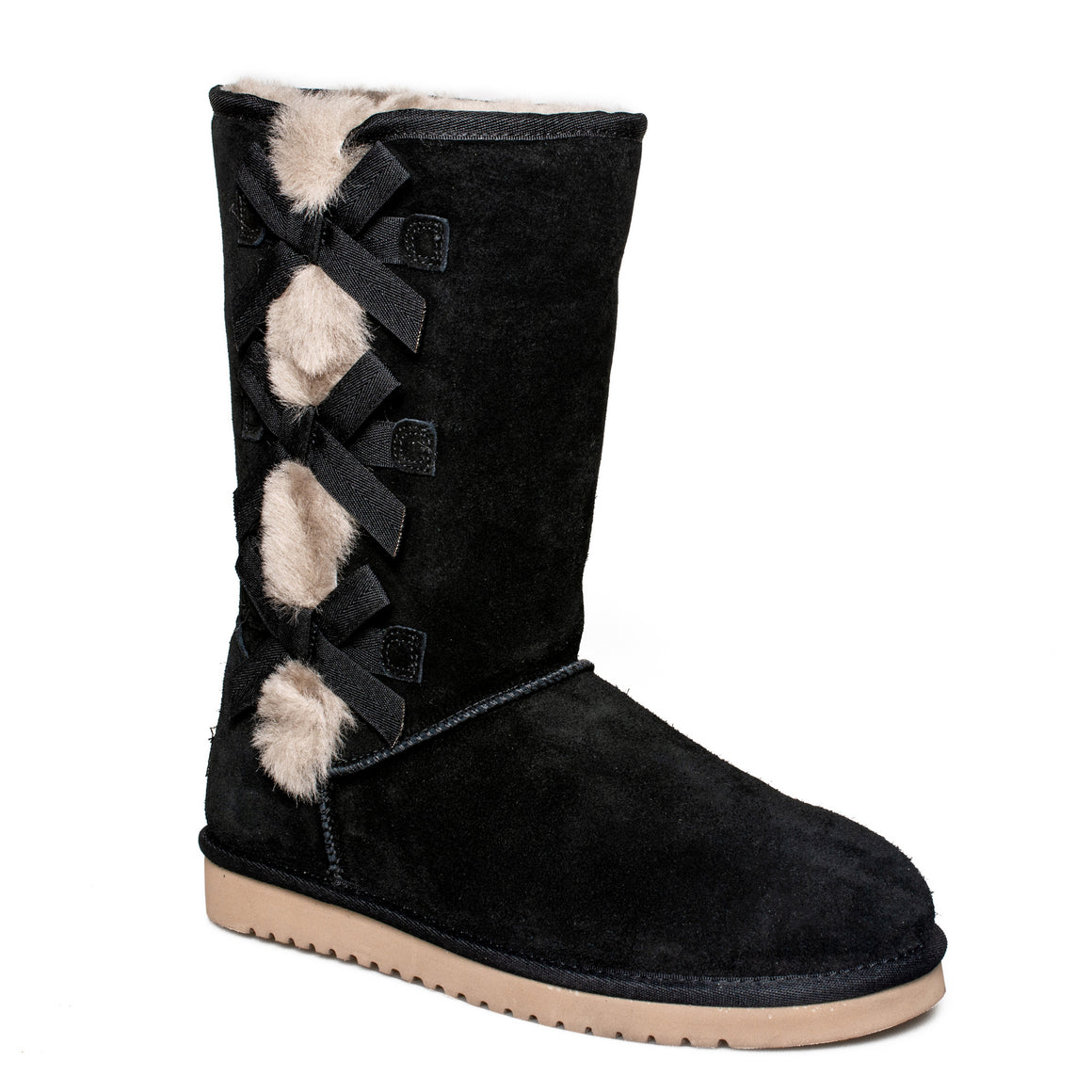 Koolaburra By UGG Victoria Tall Black Boots - Women's