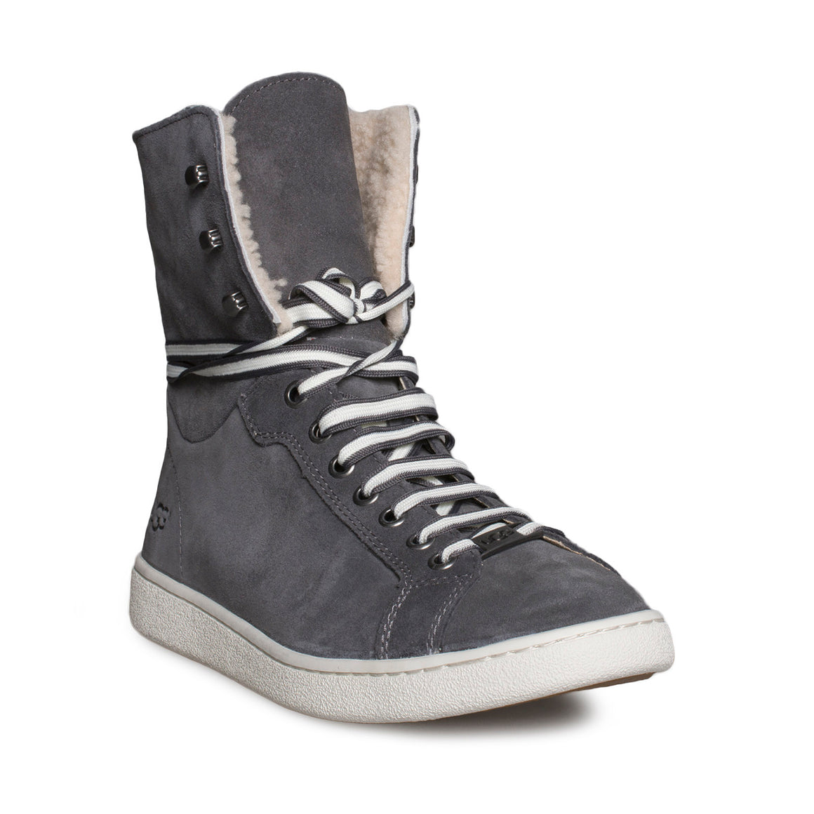 UGG Starlyn Charcoal Sneakers - Women's