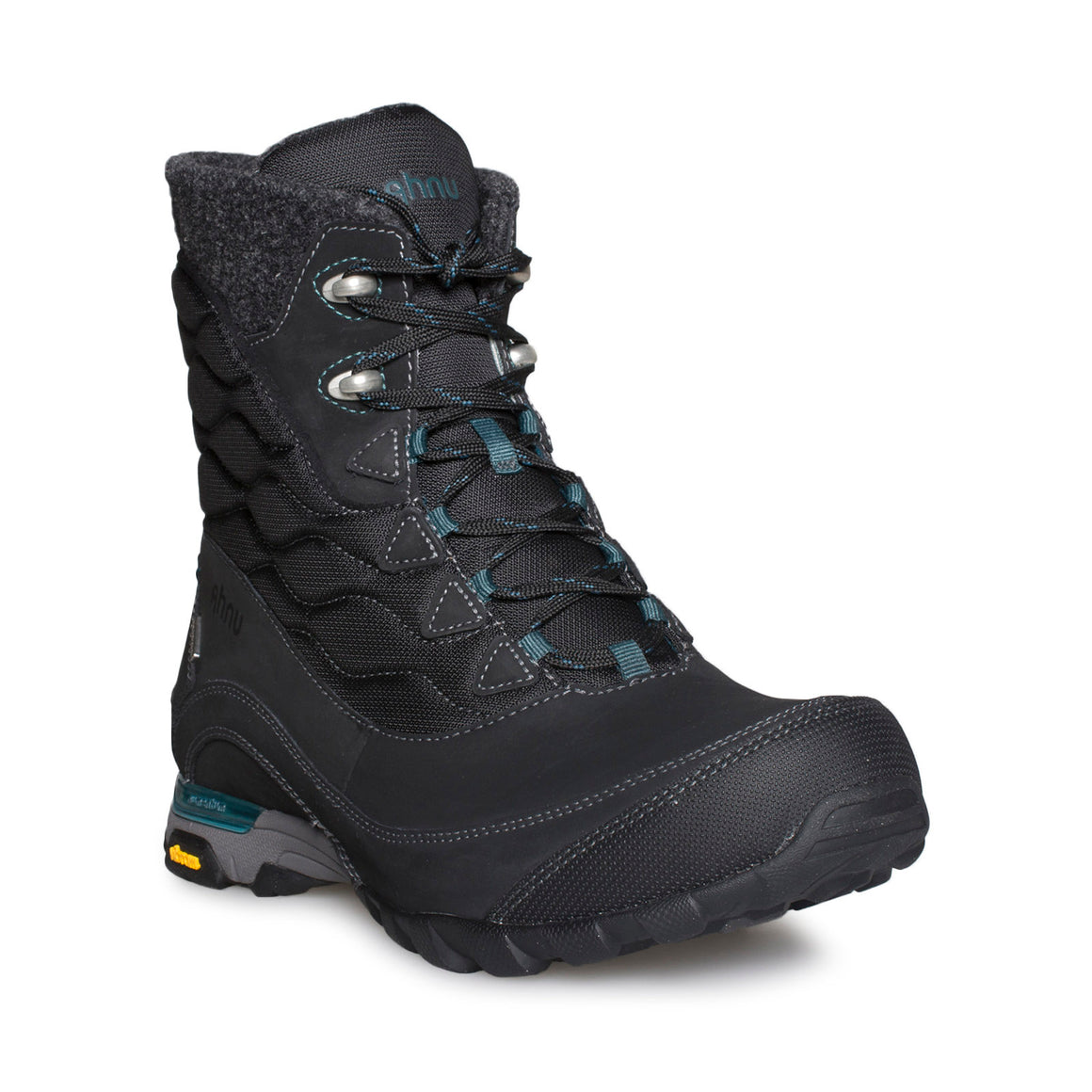 Ahnu Sugarfrost Insulated WP Black Boots - Women's
