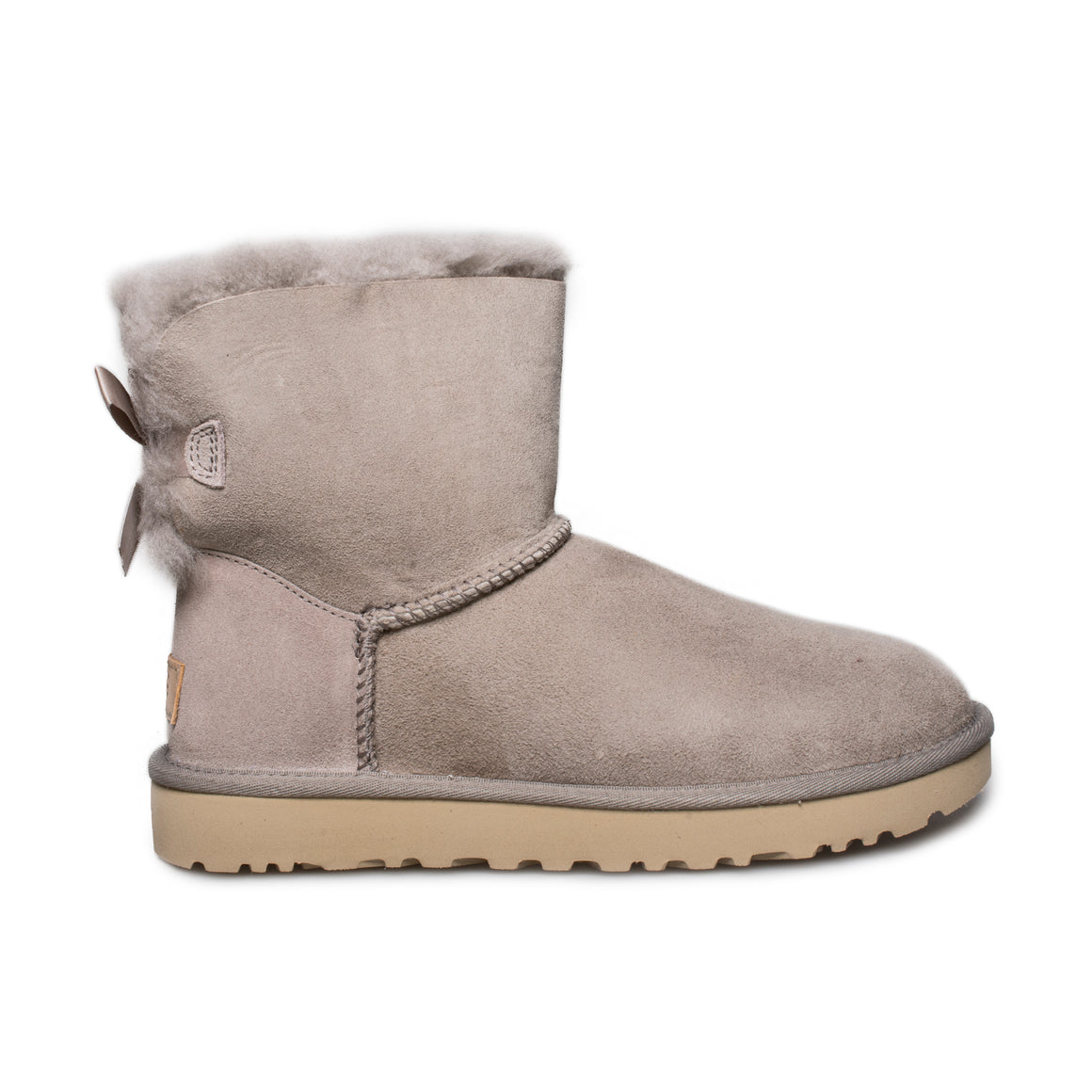 UGG Mini Bailey Brooch Oyster Boots - Women's