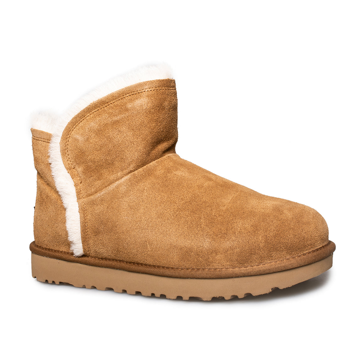 UGG Classic Mini High Low Chestnut Boots - Women's