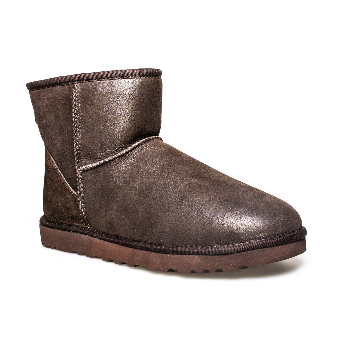 UGG Classic Mini Bomber Jacket Chocolate Boots - Men's