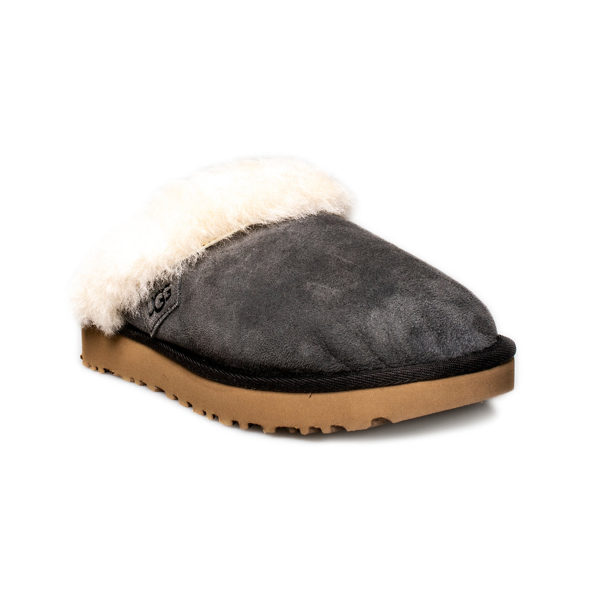 UGG Cluggette Black Olive Slippers - Women's