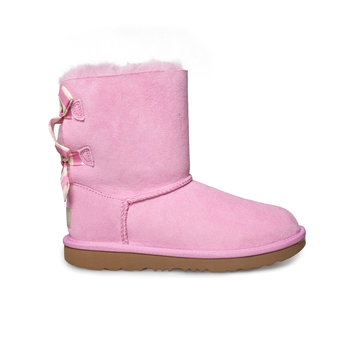 UGG Bailey Bow II Striped LPG Boots - Kid's