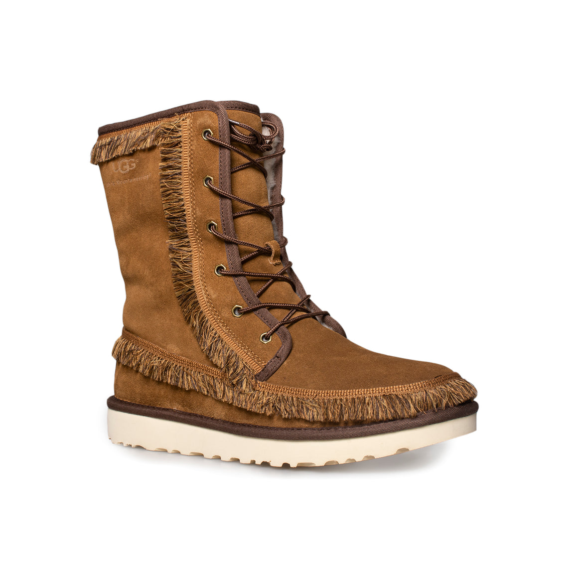 UGG Riki Lace Tall Chestnut Boots - Men's