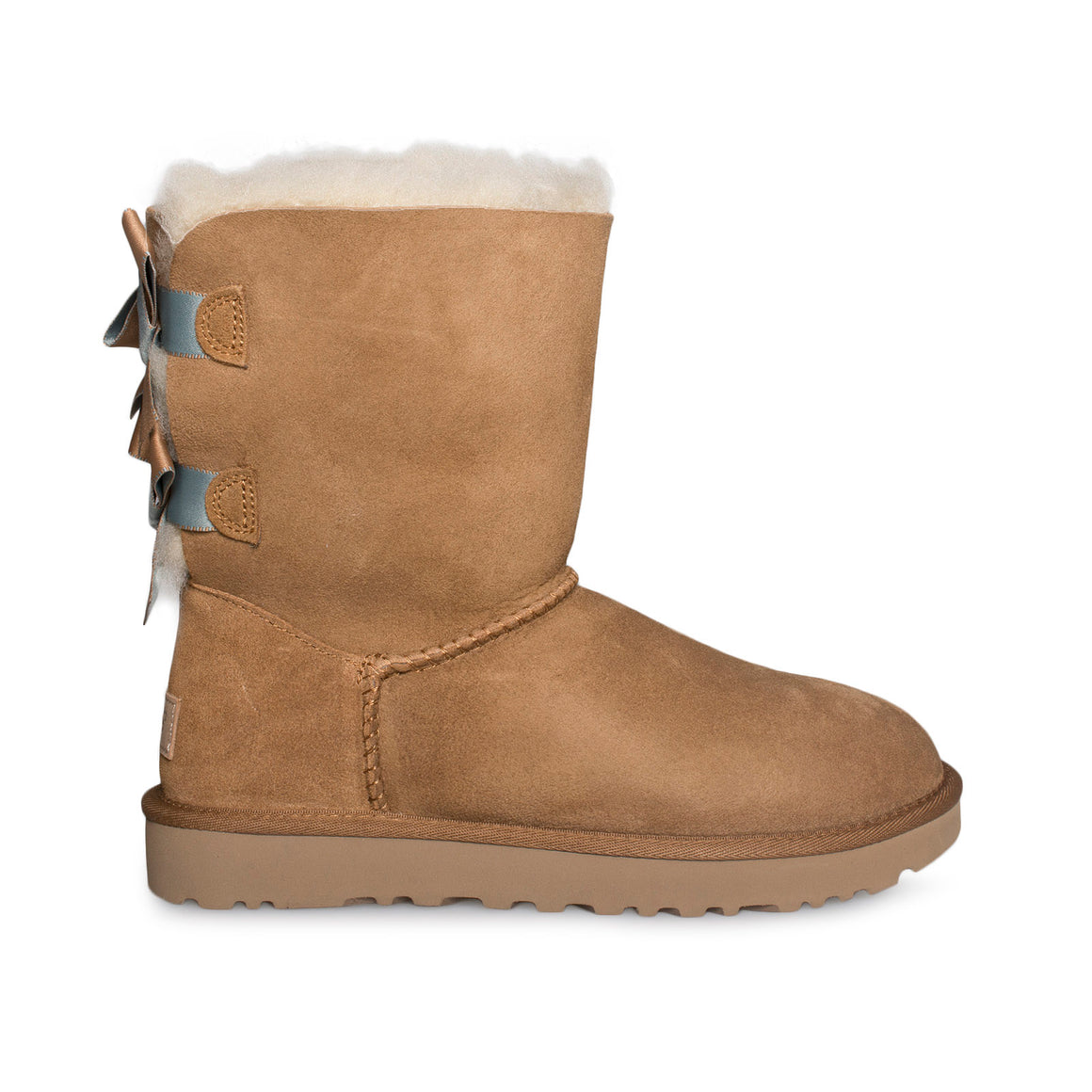UGG Bailey Bow II Shimmer Chestnut Boots - Women's