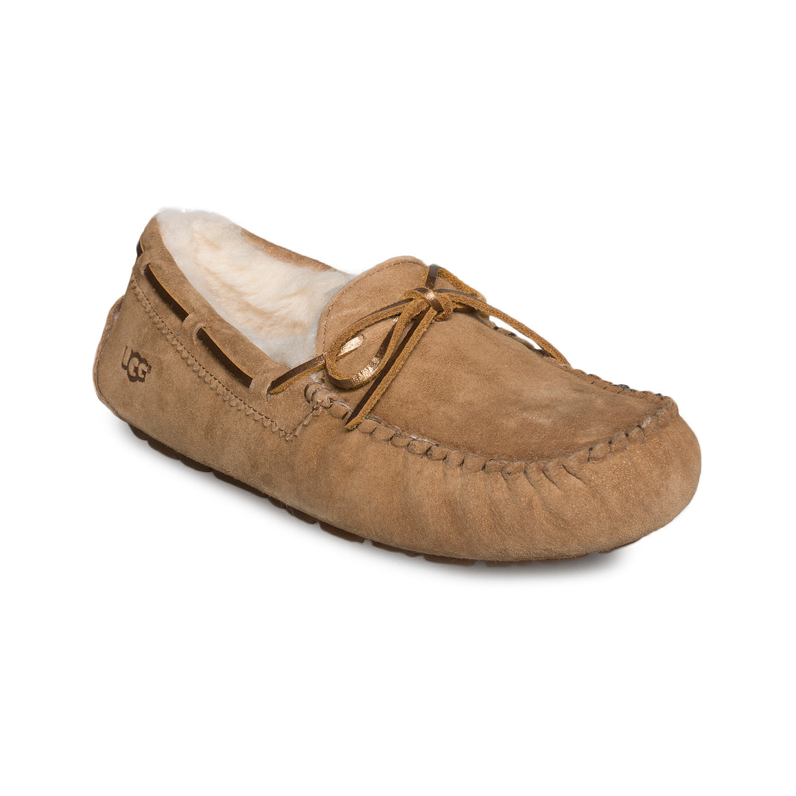 UGG Dakota Metallic Chestnut Slippers - Women's