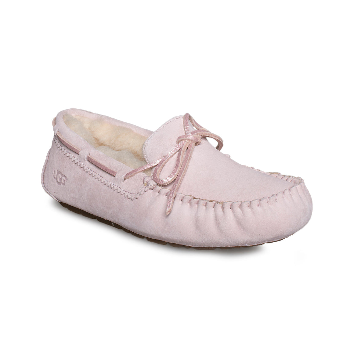 UGG Dakota Metallic Seashell Pink Slippers - Women's