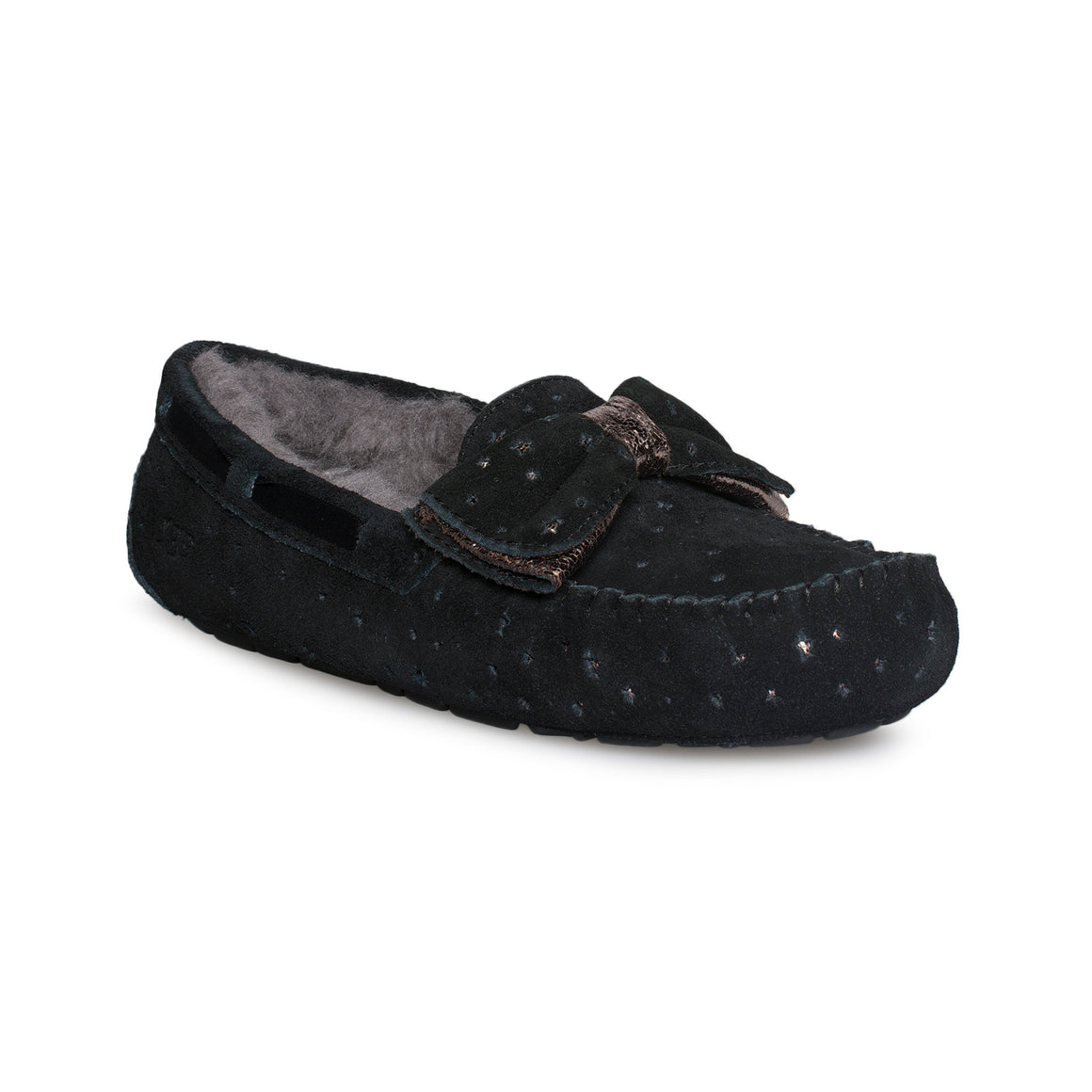 UGG Dakota Stargirl Black Slippers - Women's