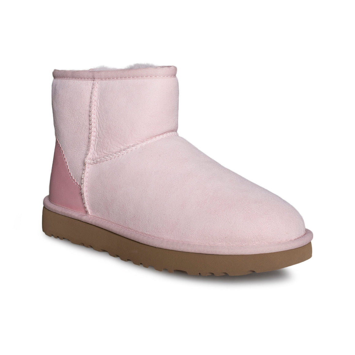UGG Classic Mini II Metallic Seashell Pink Boots - Women's
