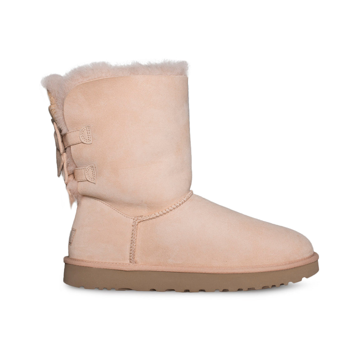 UGG Bailey Bow Short Ruffle Amber Light Boots - Women's