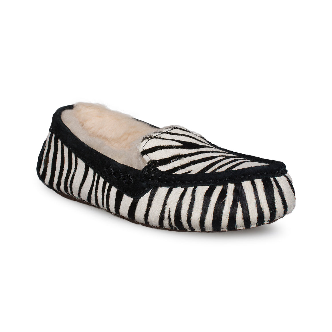 UGG Ansley Exotic Zebra Slippers