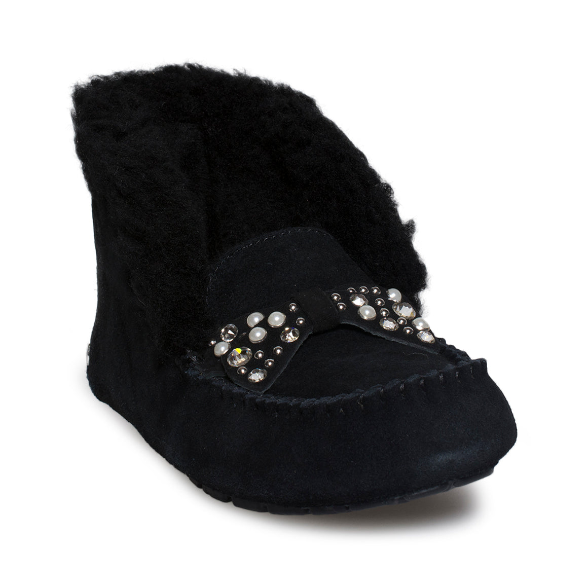 UGG Alena Brilliant Black Slippers