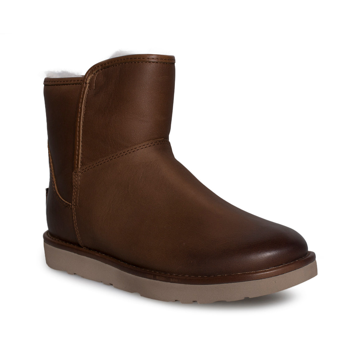 UGG Abree Mini Leather Bruno Boots
