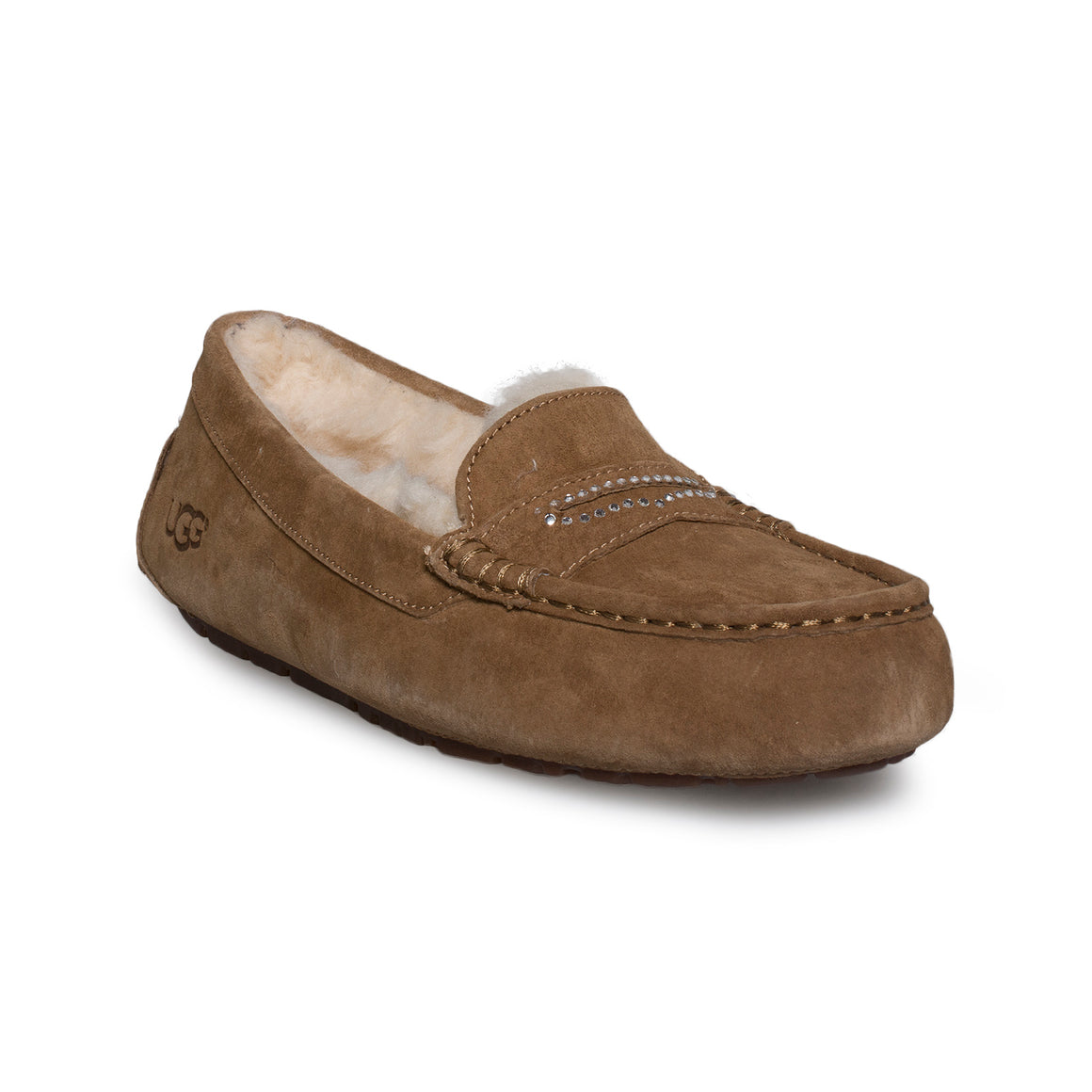 UGG Violette Sparkle Chestnut Slippers