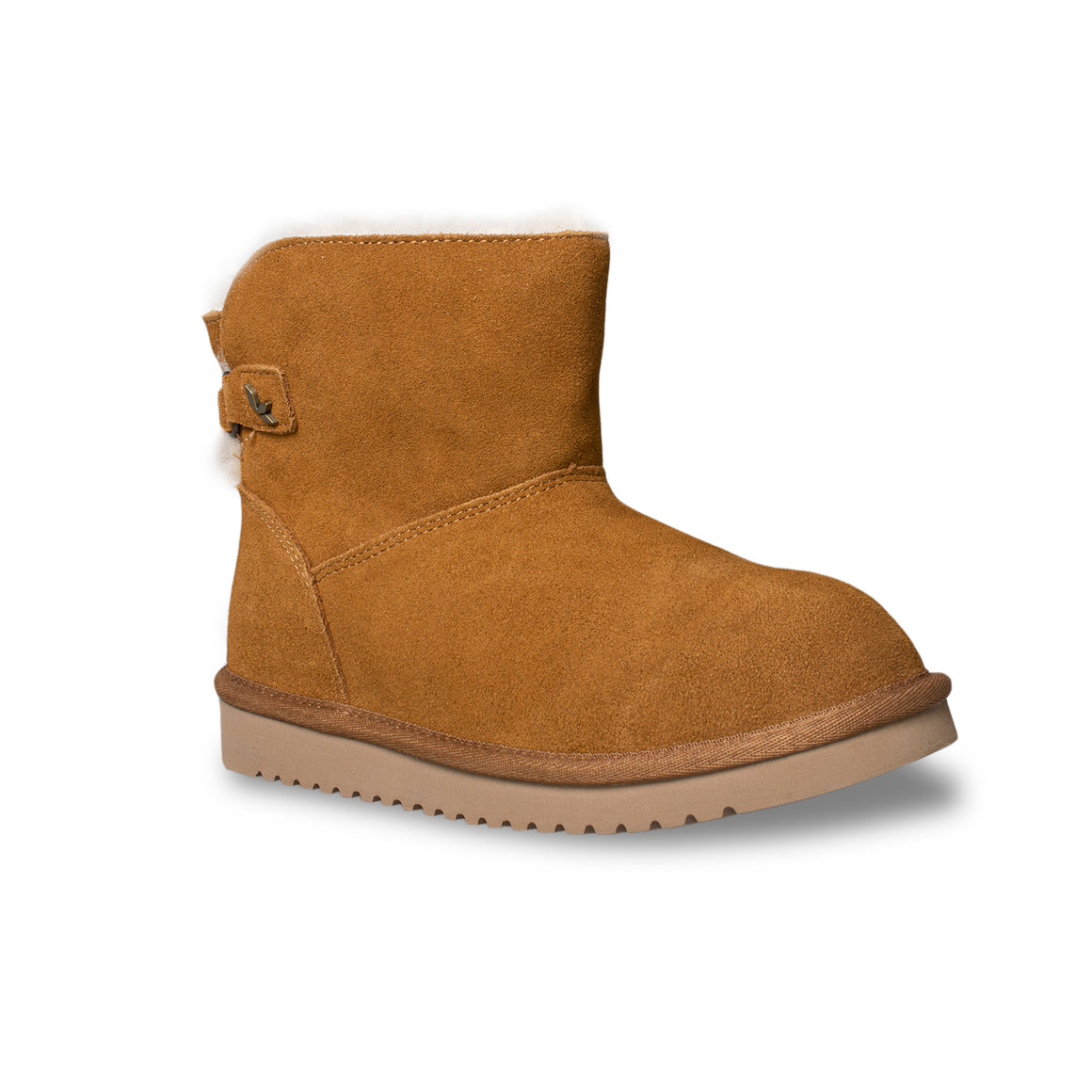 Koolaburra By UGG Jaelyn Mini Chestnut Boots - Women's