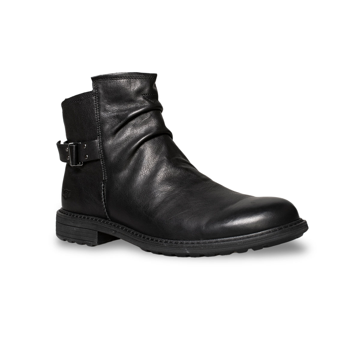 UGG Morrison Pull-On Black Boots - Men's