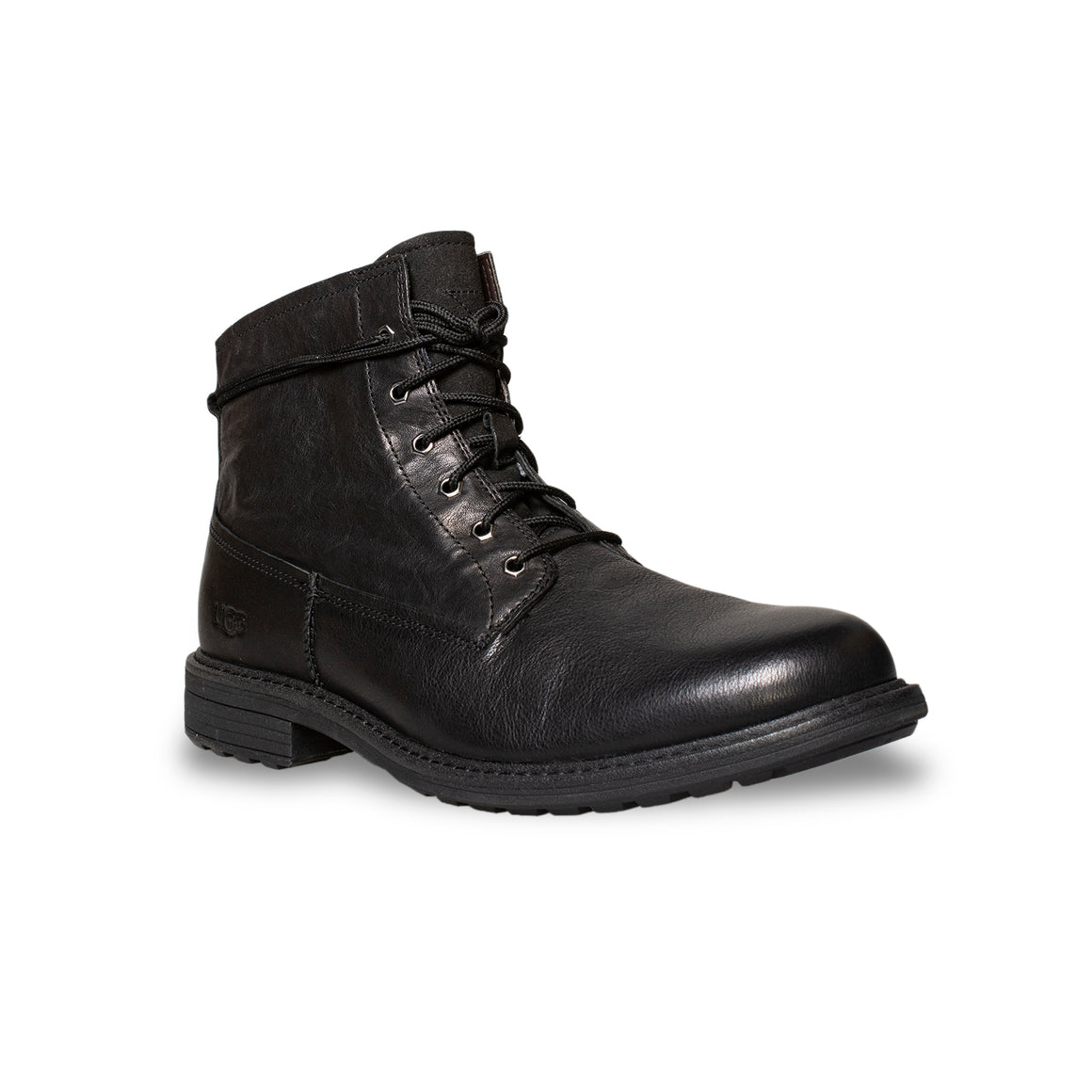 UGG Morrison Lace-up Black Boots - Men's