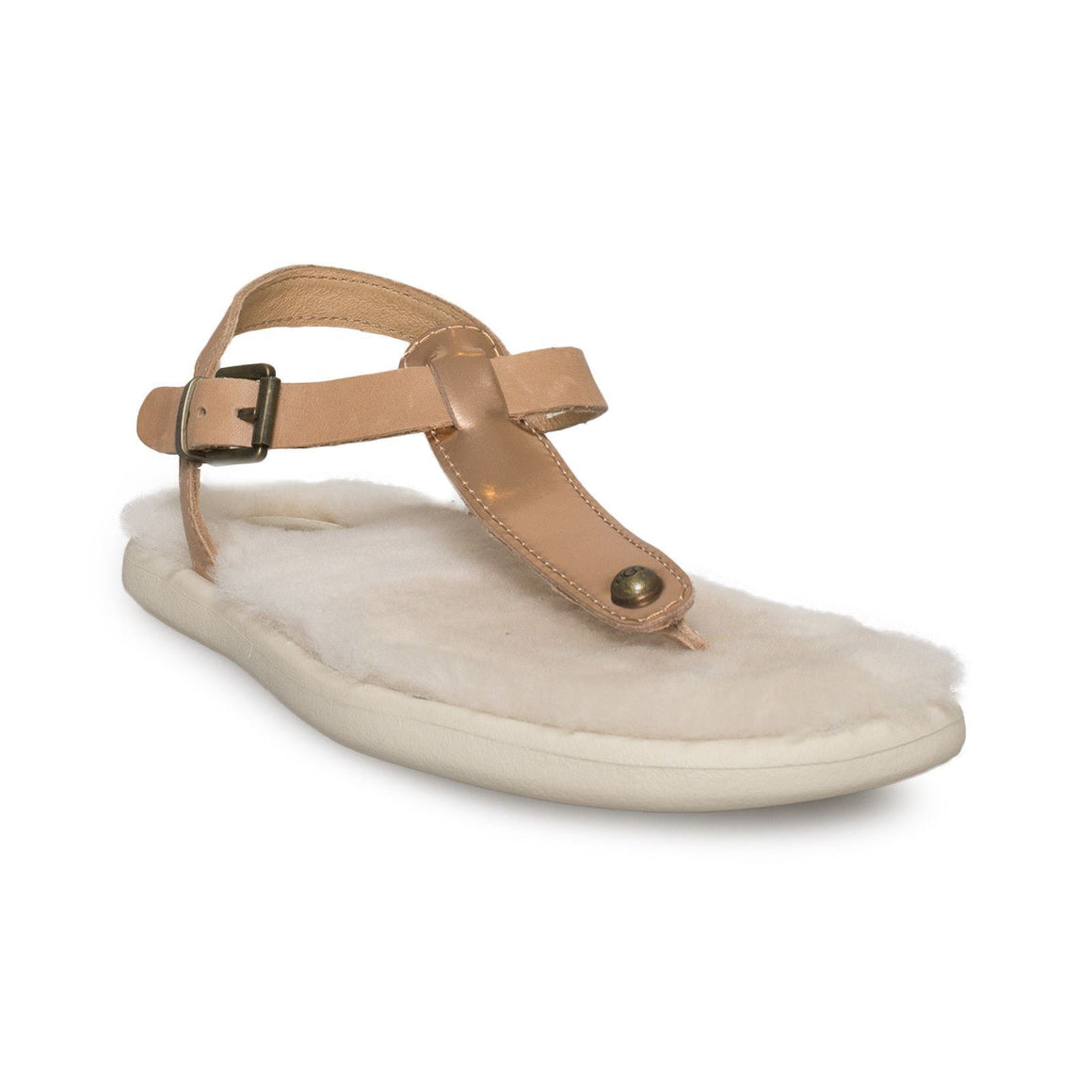 UGG Lou Lou Rose Gold Sandals