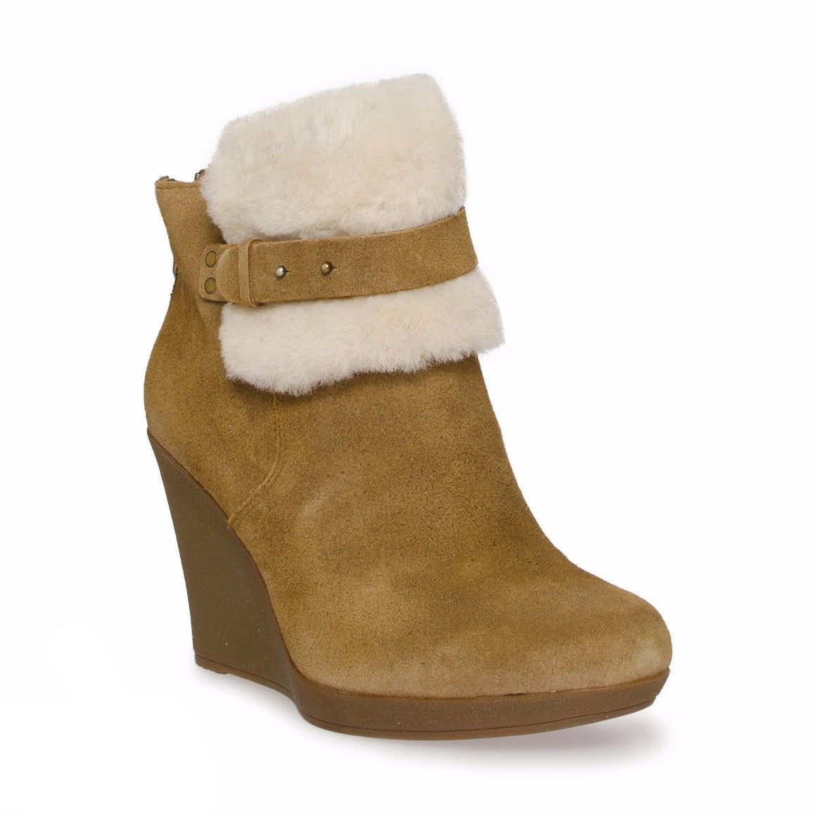 UGG ANTONIA CHESTNUT ANKLE BOOTS