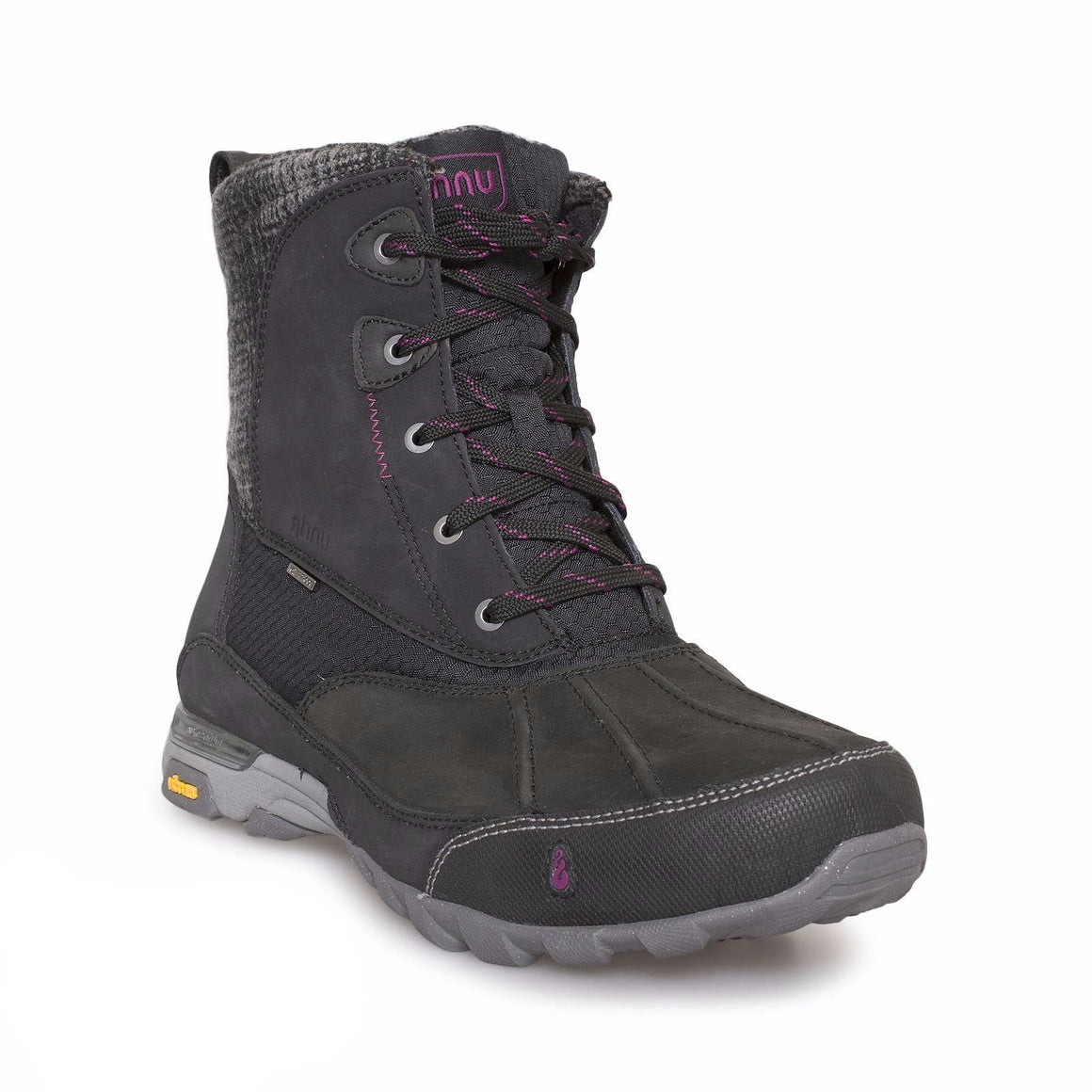 Ahnu Sugar Peak Black Boots