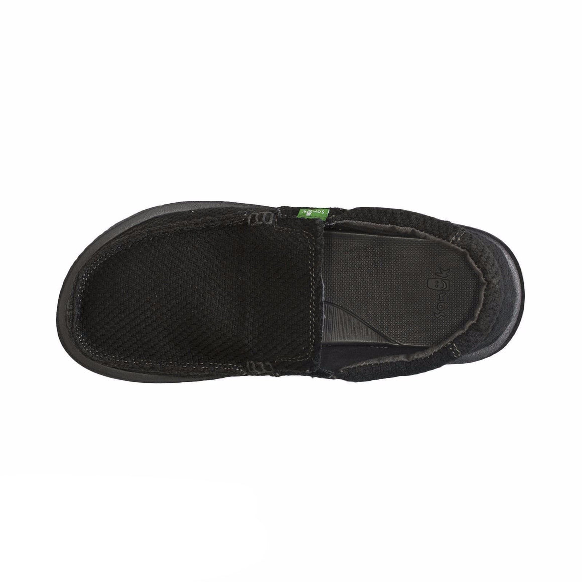 Sanuk Chibalicious Black Hemp Shoes