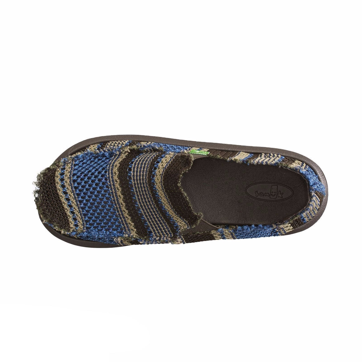 Sanuk Yew-Knit Blue Surfers