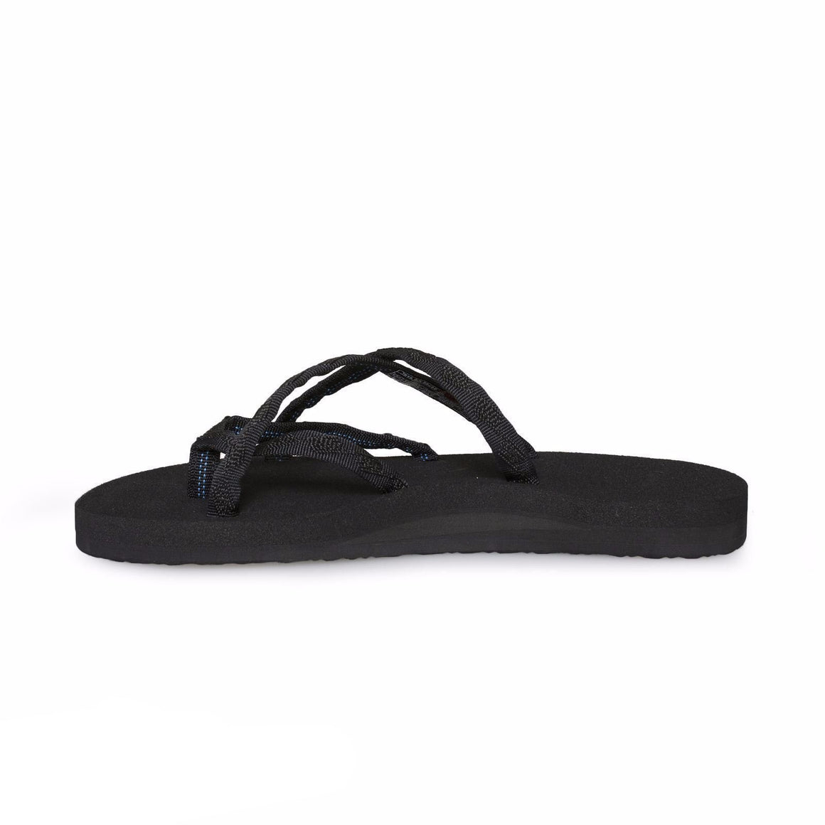 Teva Olowahu Mix B Black on Black Sandals