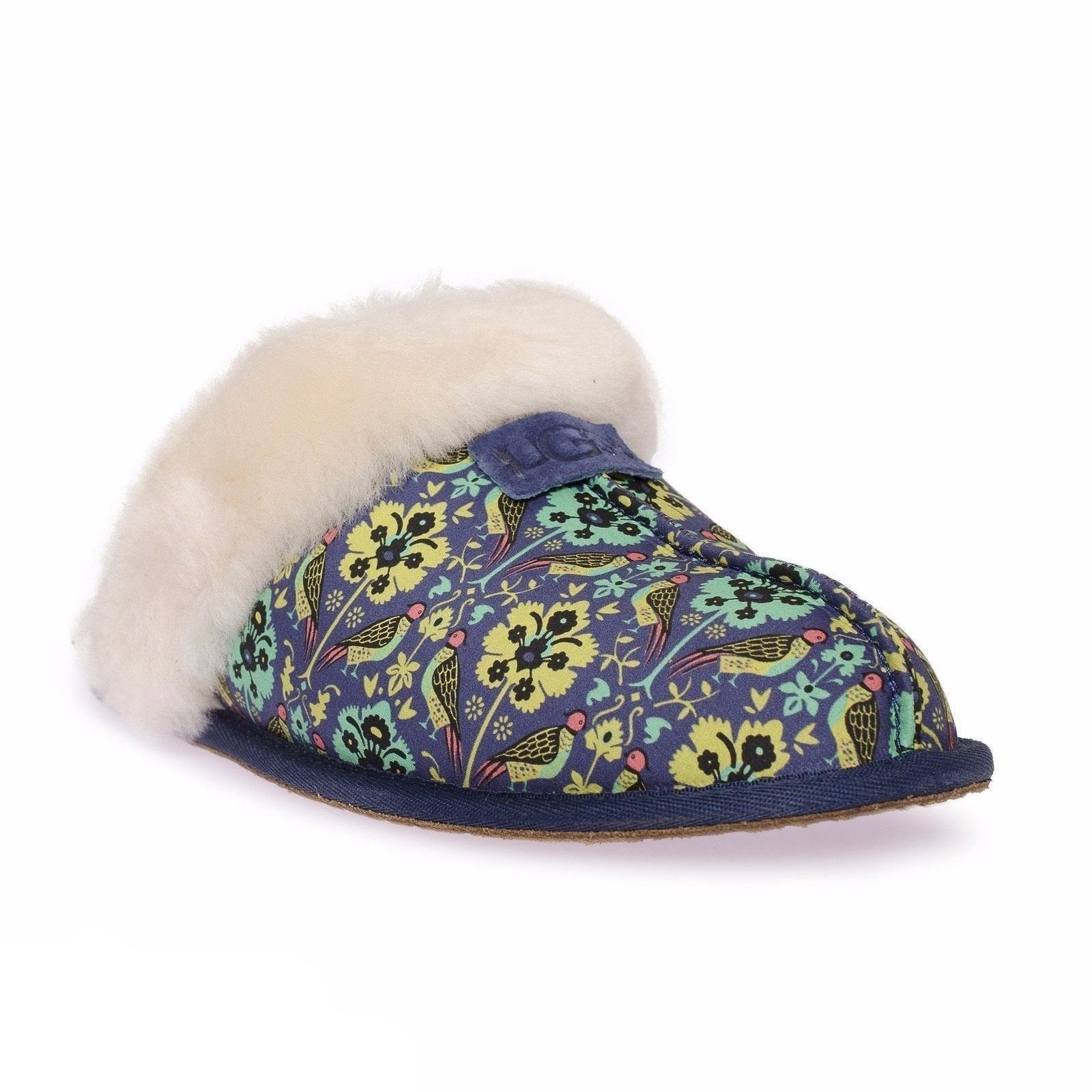 6a04a83507f UGG Scuffette Liberty Navy Slippers