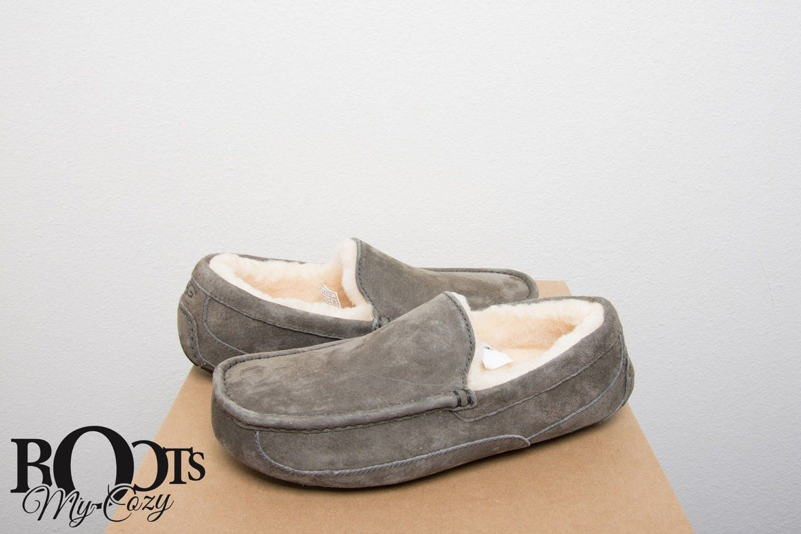 UGG Ascot Charcoal Slippers