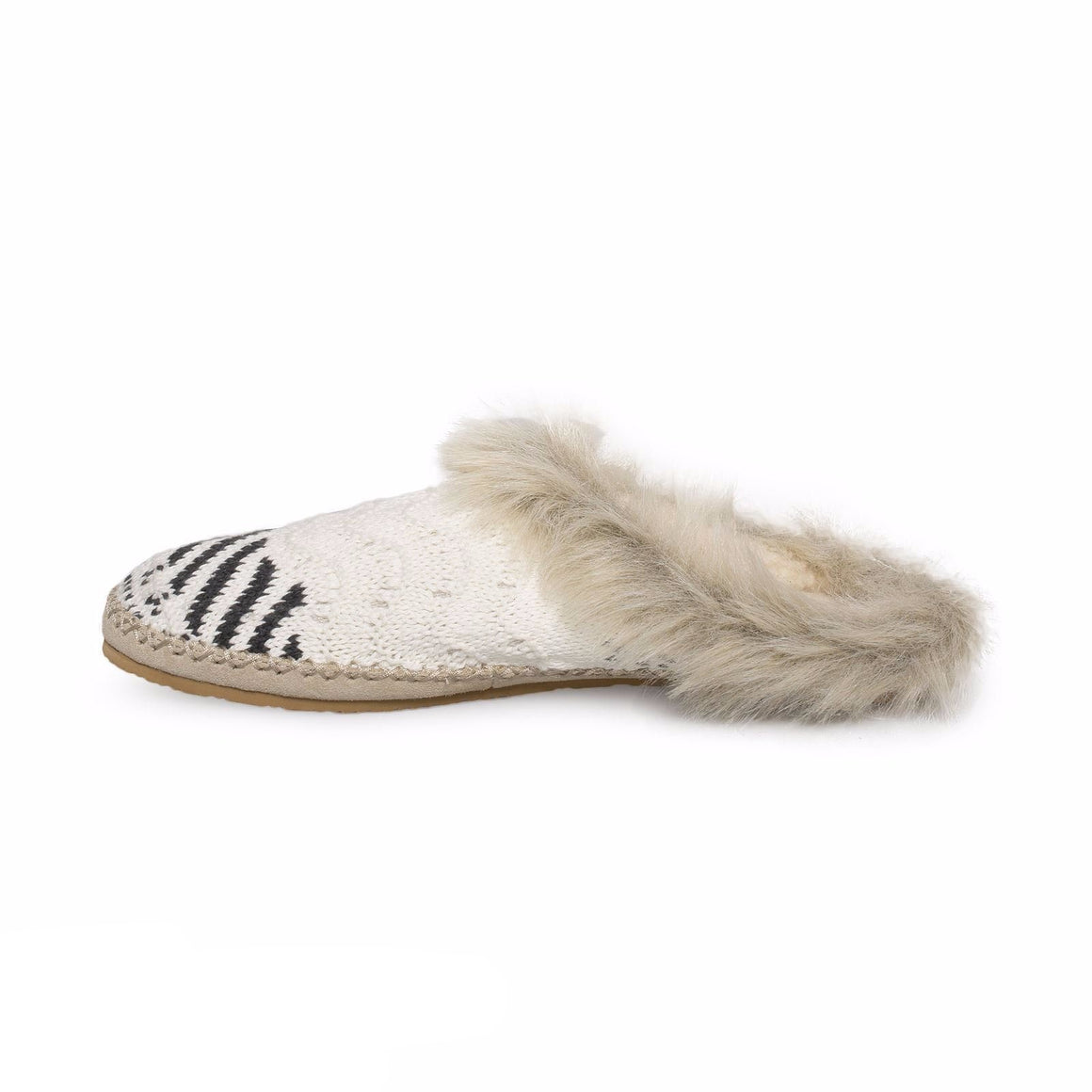 Sanuk Willo Pillow LX Natural Sweater Slippers