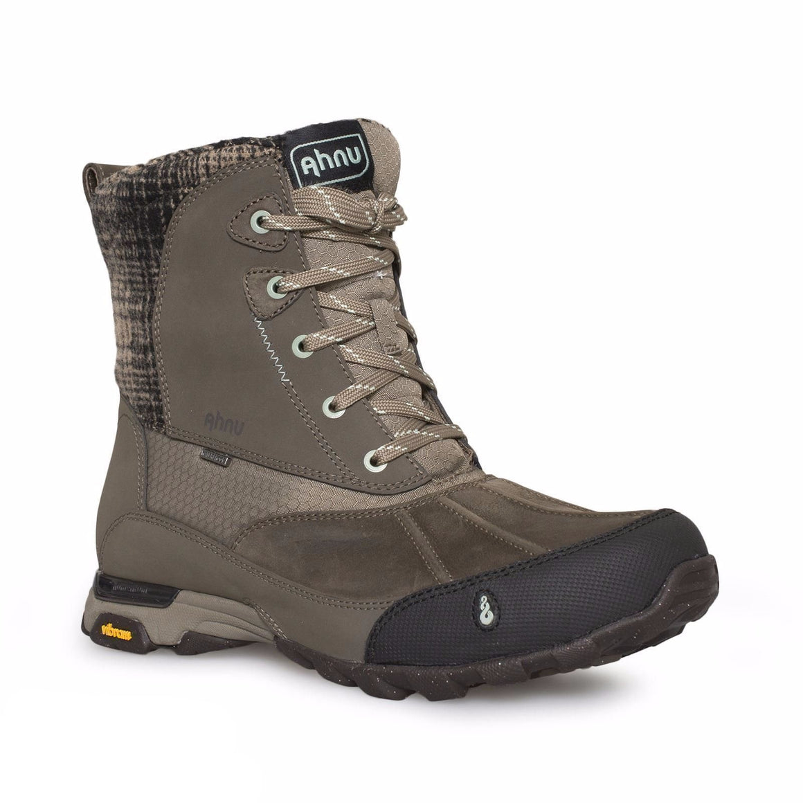 AHNU SUGAR PEAK WP ALDER BARK HIKING BOOTS