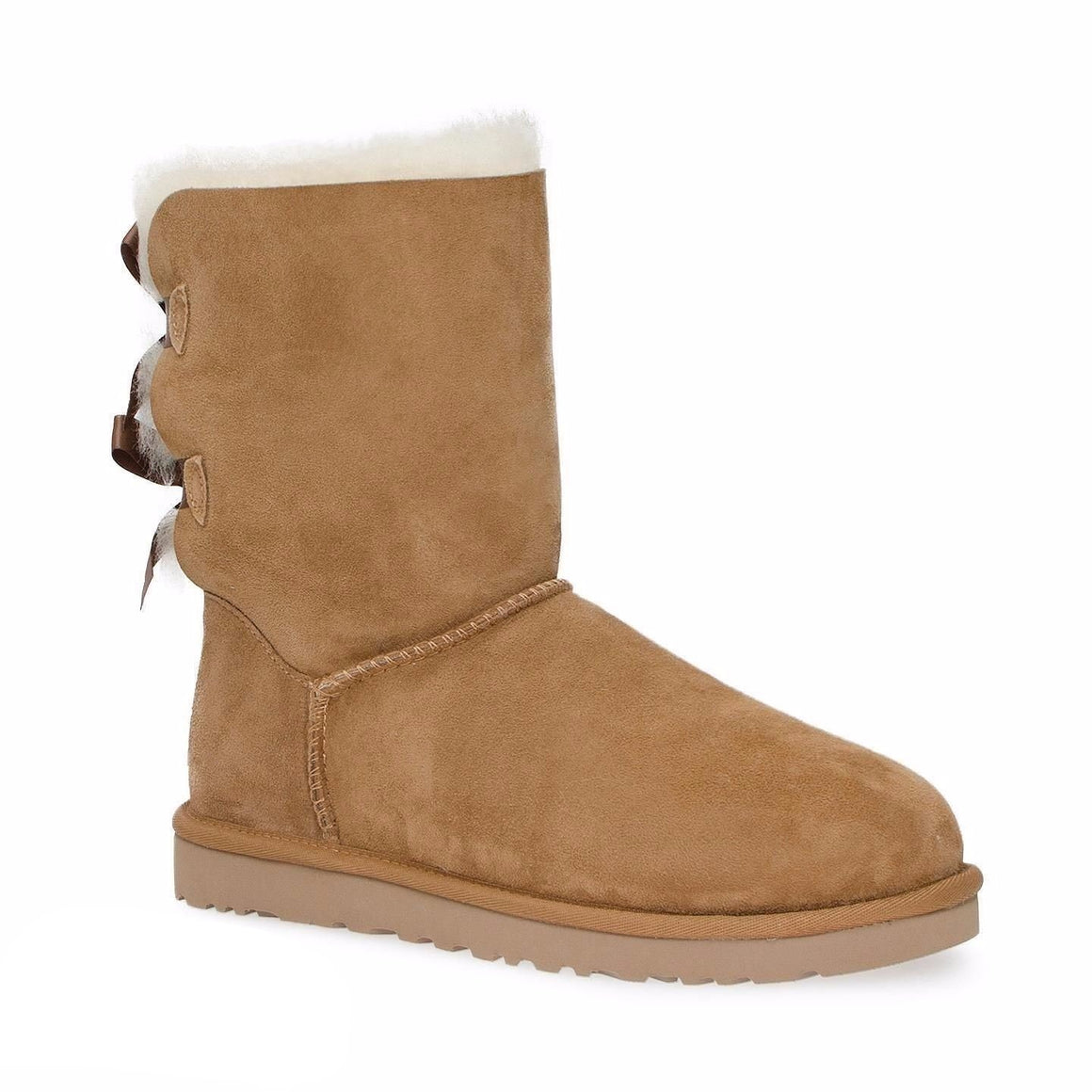 UGG Bailey Bow Chestnut Boots