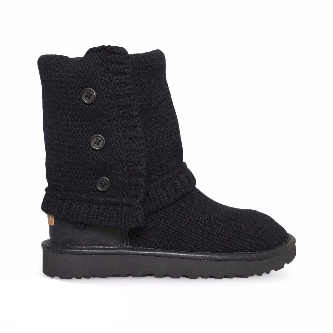 UGG Classic Cardy Cashmere Black Boots