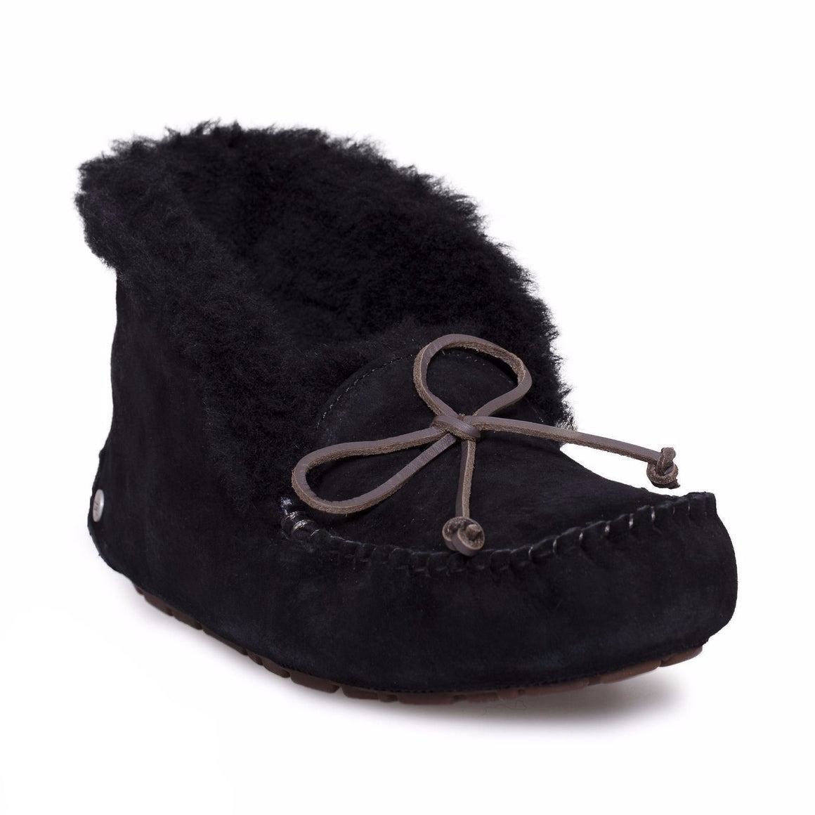 UGG Alena Black Slippers