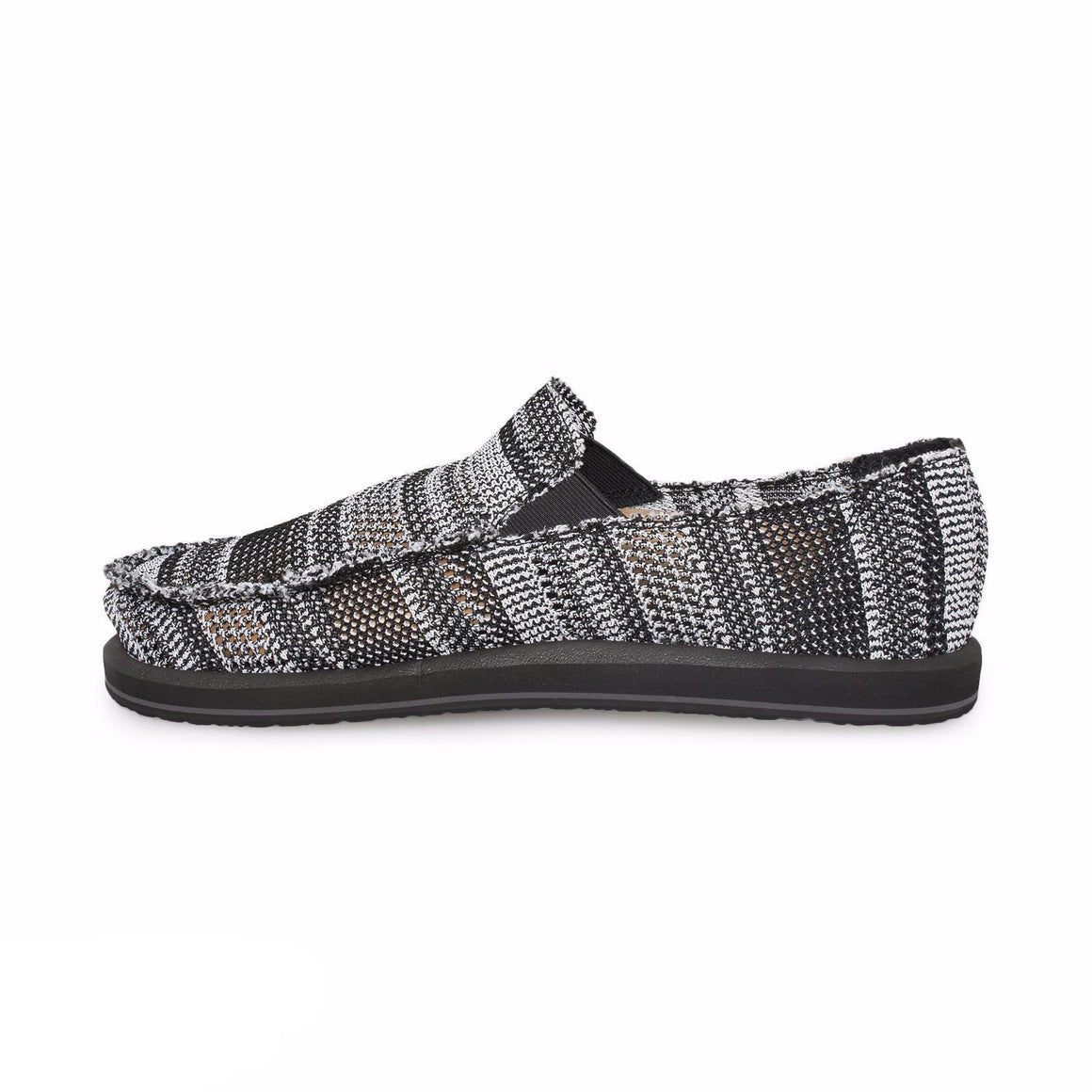 Sanuk Yew Knit Black Surfers