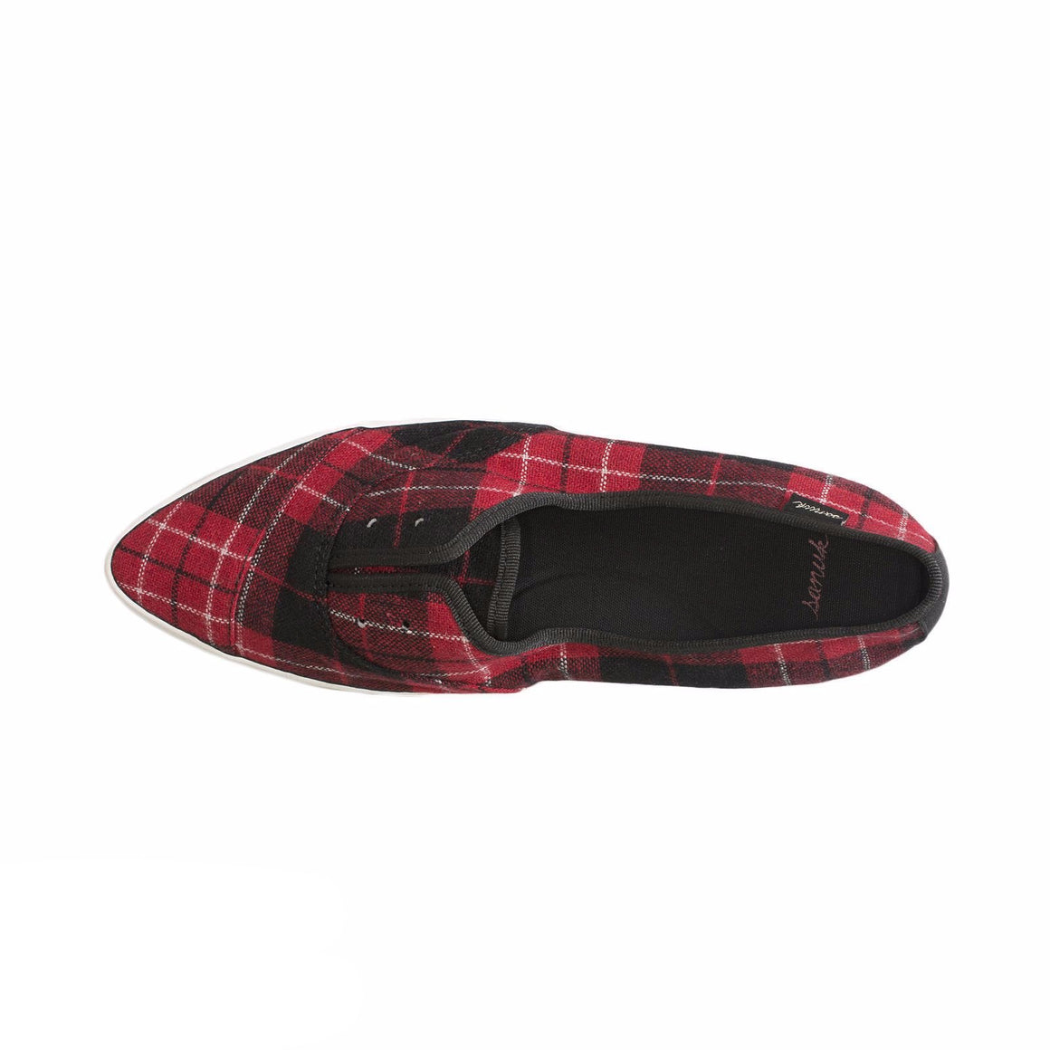 Sanuk Cat Paw TX Red Plaid Shoes