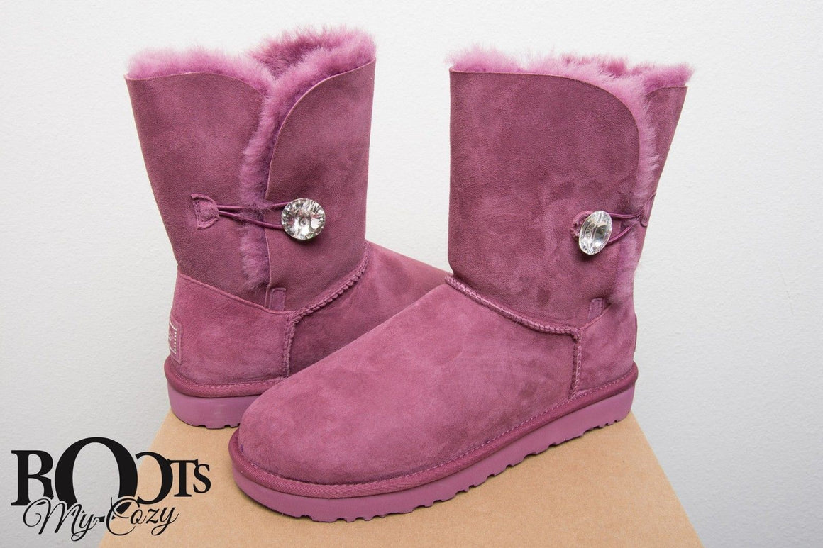 UGG Bailey Button Bling Bougainvillea Boots