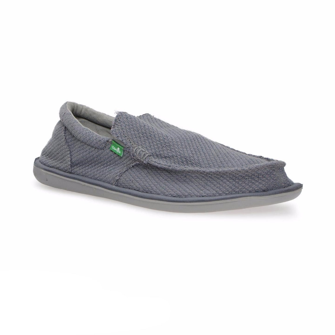Sanuk Chibalicious Gray Charcoal Hemp Shoes