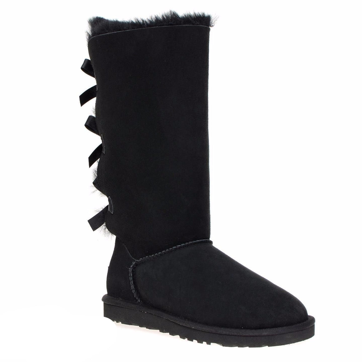 UGG Bailey Bow Tall Black Boots