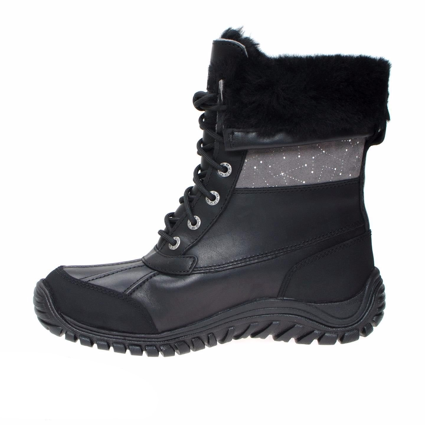 UGG Adirondack Constellation Black Boots