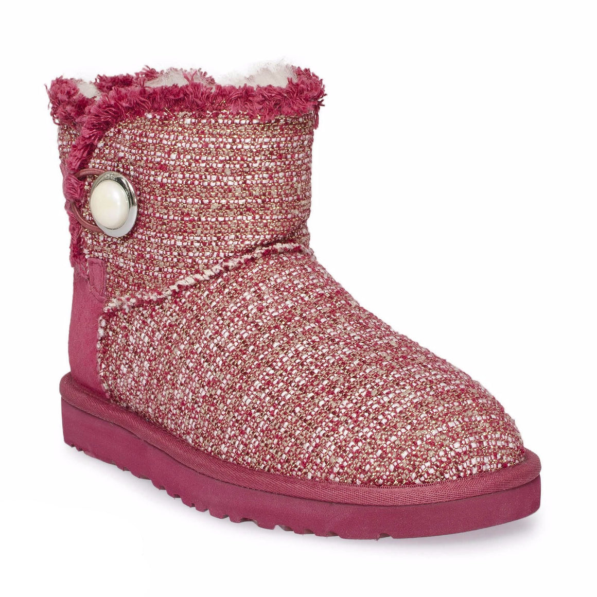 UGG Mini Bailey Burgundy Wine Boots