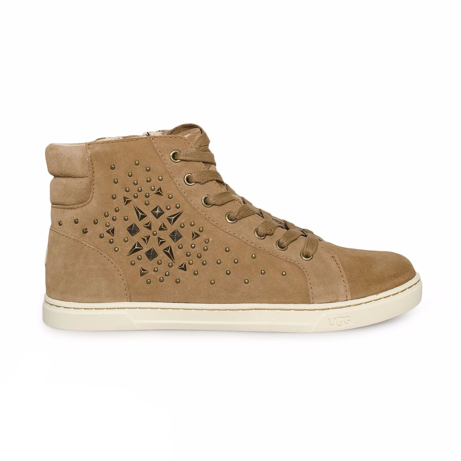 UGG Gradie Deco Studs Chestnut Shoes
