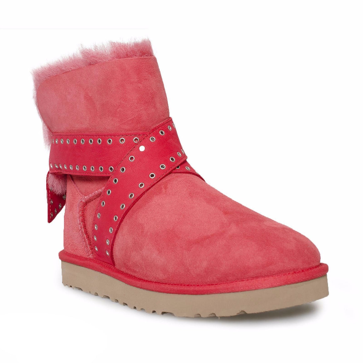 UGG Cameron Lipstick Red Boots