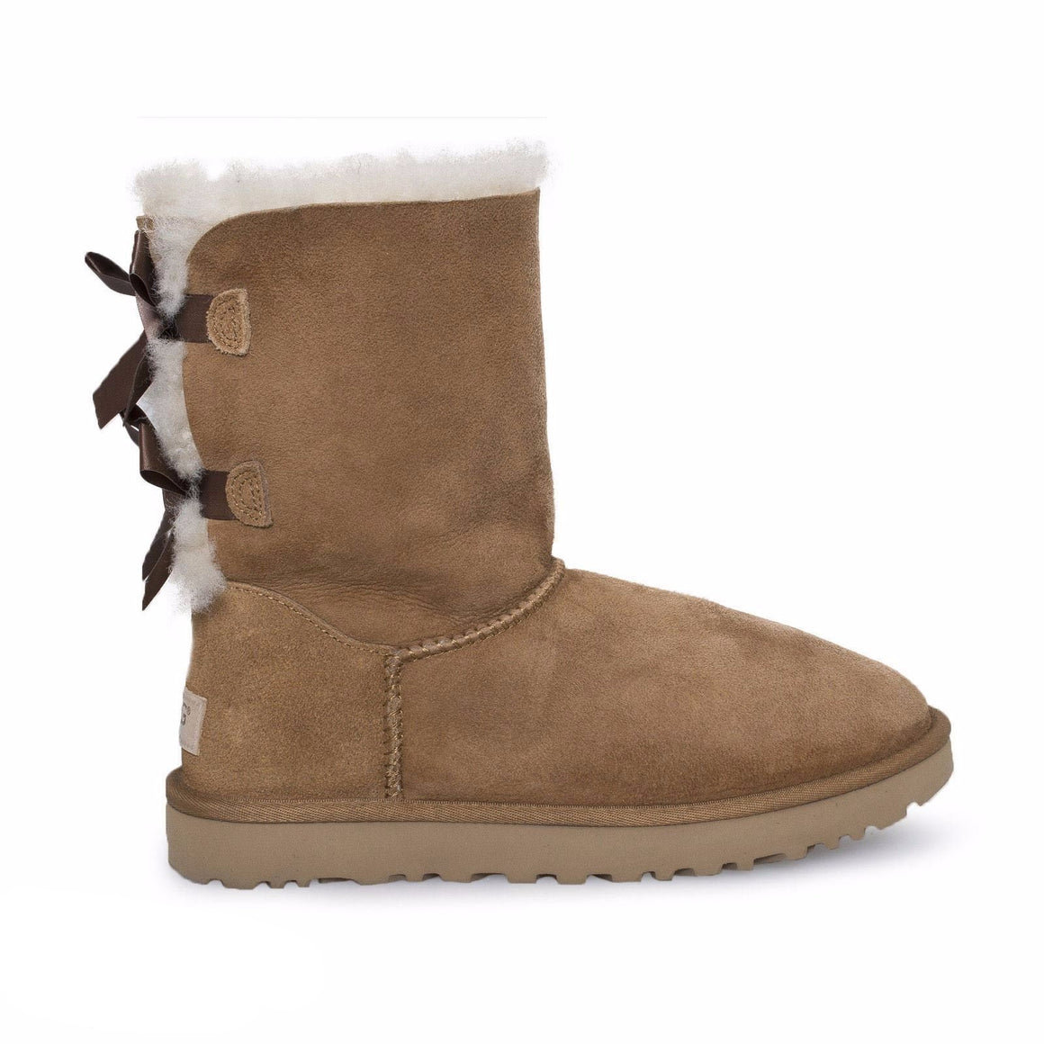 UGG Bailey Bow ii Chestnut Boots - Youth / Toddler